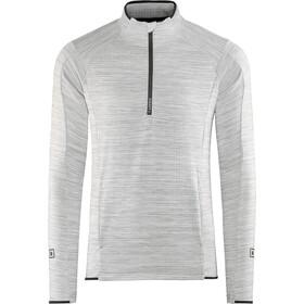 Craft Grid Sweat-shirt avec demi-zip Homme, grey melange